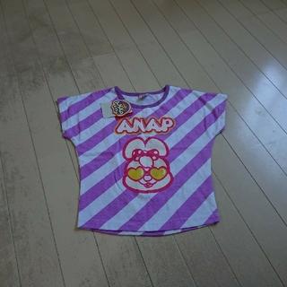 アナップキッズ(ANAP Kids)の新品未使用タグ有り  anap kidsカットソー 110(Tシャツ/カットソー)
