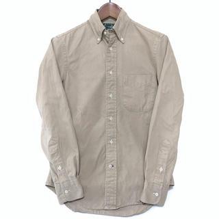 インディヴィジュアライズドシャツ(INDIVIDUALIZED SHIRTS)の◆GITMAN BROS.◆アメリカ製◆定価¥25,000程◆XS(シャツ)