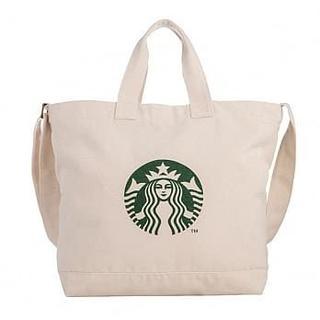 スターバックスコーヒー(Starbucks Coffee)のスターバックス :ショルダーバッグ ロゴ スタバ 台湾 限定商品(トートバッグ)