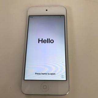 アイポッドタッチ(iPod touch)のiPod touch 第6世代 シルバー 16GB(ポータブルプレーヤー)