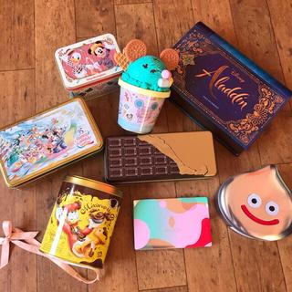 ディズニー(Disney)の空き缶 クッキー缶 色々(菓子/デザート)