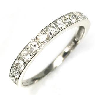 0.50ct  上質天然ダイヤモンド PT900 エタニティリング(リング(指輪))