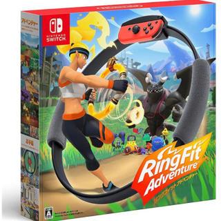 ニンテンドースイッチ(Nintendo Switch)のリングフィット アドベンチャー -Switch(家庭用ゲームソフト)