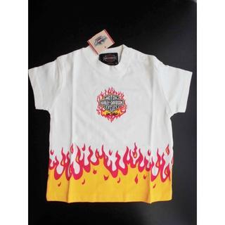 ハーレーダビッドソン(Harley Davidson)の新品ハーレーダビッドソン子供服Tシャツ綿コットン半袖90サイズ男女兼用(Tシャツ/カットソー)