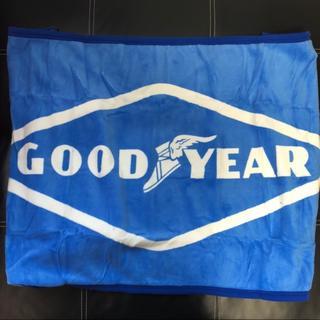 【新品】グッドイヤー GOODYEAR ブランケット ひざ掛け フリース 毛布