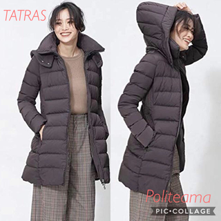 TATRAS - 新品正規品 タトラス 定価90,200円ポリテアーマ ブラウンサイズ01