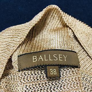 トゥモローランド(TOMORROWLAND)のトゥモローランド Ballsey ボレロ ラメ ゴールド サイズ38(ボレロ)