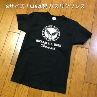 バズリクソンズ(Buzz Rickson's)のSサイズ!USA製 バズリクソンズ 古着半袖Tシャツ ミリタリー USAF (Tシャツ/カットソー(半袖/袖なし))