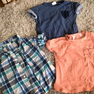 ザラ(ZARA)のサイズ86夏物セット!ZARA baby、h&m 半袖(Tシャツ)