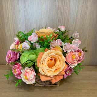 造花 フラワーアレンジメント(リース)