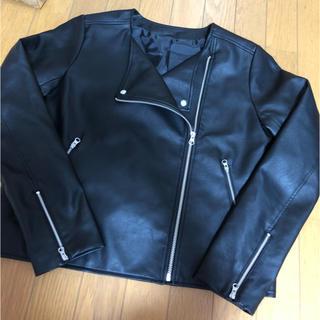 ジーユー(GU)のGU  ライダースジャケット   XL(ライダースジャケット)