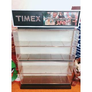 タイメックス(TIMEX)の【70年代 店舗備品】TIMEX ウォッチ ヴィンテージ ディスプレイサイン!!(腕時計(アナログ))