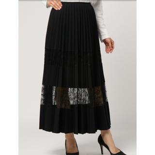 アウラアイラ(AULA AILA)のAULAレースプリーツスカート(ロングスカート)