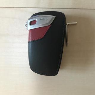 ビーエムダブリュー(BMW)の新品未使用BMW レザーキーケース(車外アクセサリ)