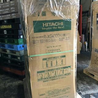 日立 - 【未開封品】日立 冷蔵庫 430L 6ドア クリスタルホワイト R-XG4300