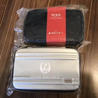 ジャル(ニホンコウクウ)(JAL(日本航空))のデルタ航空 JALビジネスクラス 2種類アメニティ 送料無料(旅行用品)