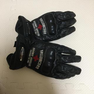 イエローコーン(YeLLOW CORN)のバイク手袋 グローブ イエローコーン L レザー 牛革(装備/装具)