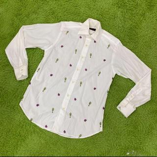 エトロ(ETRO)のETRO 貝殻&タツノオトシゴ 刺繍 ブラウス ドレスシャツ エトロ(シャツ)