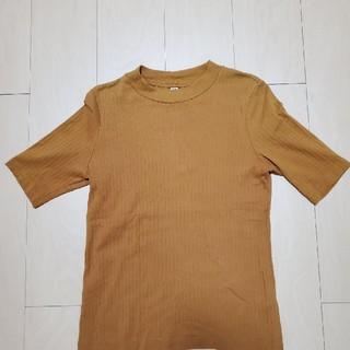 ユニクロ(UNIQLO)のリブクルーネックTシャツ(その他)