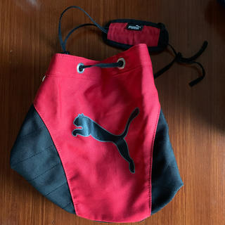 プーマ(PUMA)のPUMA プーマ プールバッグ 赤&黒 2段式(その他)