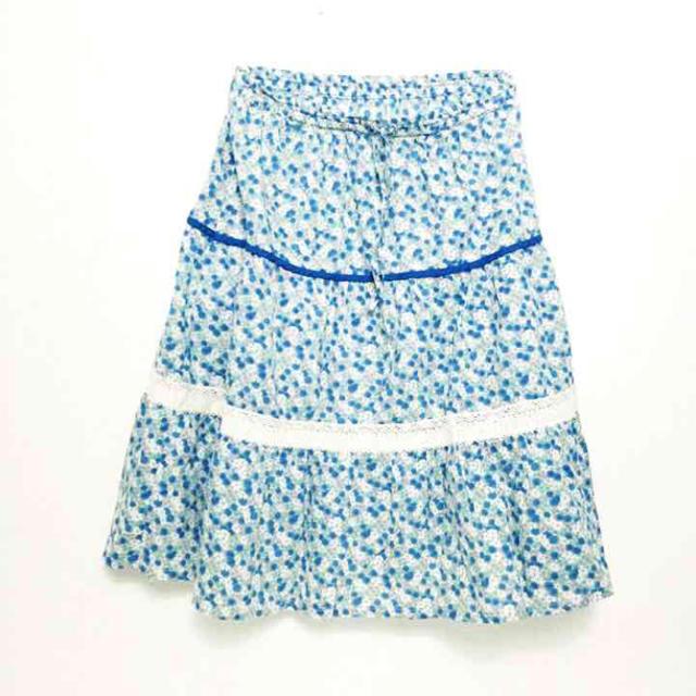 cynthia(シンシア)のシンシア♡小花柄コットン膝丈スカート レディースのスカート(ひざ丈スカート)の商品写真