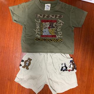 カステルバジャック(CASTELBAJAC)のCASTELBAJAC kids 80㎝半袖、ハーフパンツ上下セット(Tシャツ)