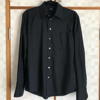 ジャンポールゴルチエ(Jean-Paul GAULTIER)の美品 レア ジャンポール・ゴルチエ ドレスシャツ 黒 48 日本L相当(シャツ)