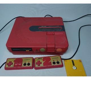 シャープ(SHARP)のツインファミコン ジャンク品 おまけ付き(家庭用ゲーム機本体)
