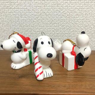 スヌーピー(SNOOPY)のスヌーピー ビンテージ オーナメント フィギュア クリスマス(アメコミ)
