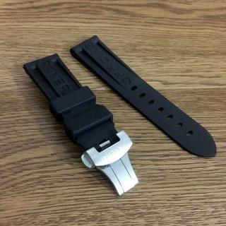 オフィチーネパネライ(OFFICINE PANERAI)の汎用交換用ベルト 対応パネライ 時計ラバーベルト Dバックル 24(ラバーベルト)