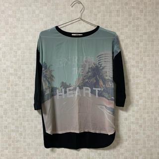 オゾック(OZOC)の6分袖Tシャツ(Tシャツ(長袖/七分))