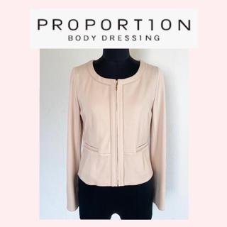 プロポーションボディドレッシング(PROPORTION BODY DRESSING)のプロポーションボディドレッシング ノーカラージャケット(ノーカラージャケット)