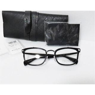 ヨウジヤマモト(Yohji Yamamoto)の定価4.1万 Yohji Yamamoto メガネ ブラック コンビ フランス製(サングラス/メガネ)