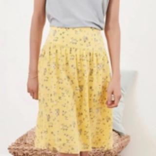 コントワーデコトニエ(Comptoir des cotonniers)のコントワーデトコニエ 花柄スカート(ひざ丈スカート)