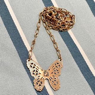 フェンディ(FENDI)の蝶ネックレス(ネックレス)