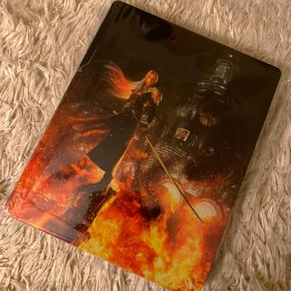 プレイステーション4(PlayStation4)のFF7R スチールブックケース(キャラクターグッズ)