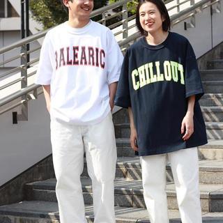イズネス(is-ness)のis ness 1ldk music Tシャツ CHILLOUT ホワイト (Tシャツ/カットソー(半袖/袖なし))