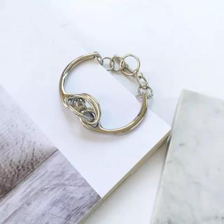 ザラ(ZARA)のメタルブレス silver #H36(ブレスレット/バングル)