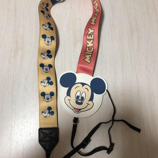 ディズニー(Disney)のミッキー カメラストラップ (その他)