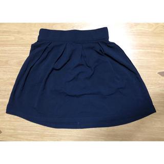 シマムラ(しまむら)のレディース スカート Mサイズ ネイビー(ミニスカート)
