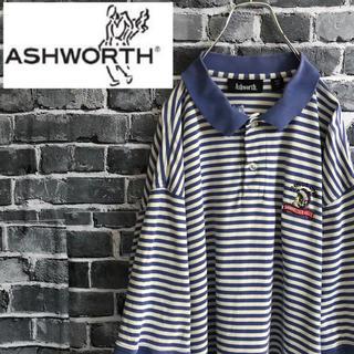 アシュワース(Ashworth)の【moko 様専用】アシュワース ポロシャツ ボーダー 半袖(ポロシャツ)