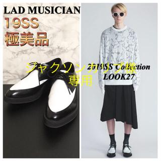 LAD MUSICIAN - 【極美品】【19SS】LAD MUSICIAN「U-TIP SHOES」