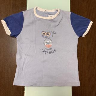 プチバトー(PETIT BATEAU)のプチバトーTシャツ 80(Tシャツ)