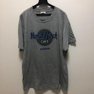 スピンズ(SPINNS)のハードロックカフェ Tシャツ グレー サイパン(Tシャツ/カットソー(半袖/袖なし))
