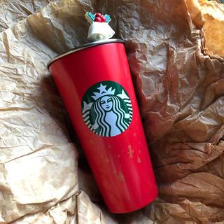 スターバックスコーヒー(Starbucks Coffee)の韓国スタバ ステンレス タンブラー ホリデー クリスマス レッドカップ(タンブラー)