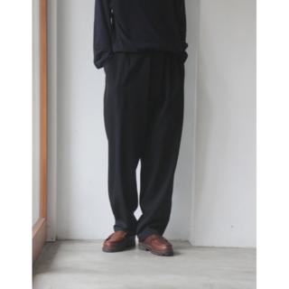 コモリ(COMOLI)の【good job様】 COMOLI ウールギャバ ドローストリング パンツ(その他)