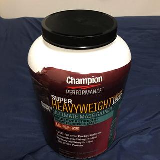 チャンピオン(Champion)のsuper heavy weight gainer 1200(プロテイン)(プロテイン)