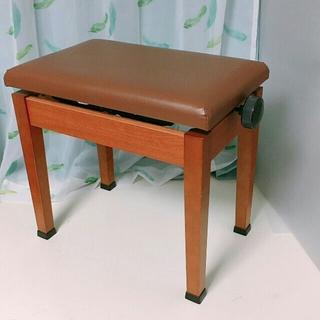 ピアノ椅子B 電子ピアノ 椅子 ブラウン(電子ピアノ)