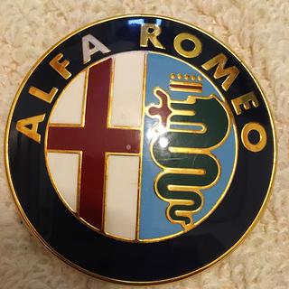 アルファロメオ(Alfa Romeo)のALFA ROMEO 164【正規品】エンブレム(車外アクセサリ)