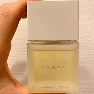 スリー(THREE)のTHREE コンディショニングSQオイル(美容液)(オイル/美容液)